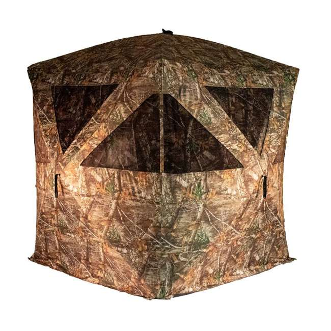 R500-RTE Rhino Blinds R500-RTE RealTree Edge 3 to 4 Person Hunting Ground Blind, RealTree