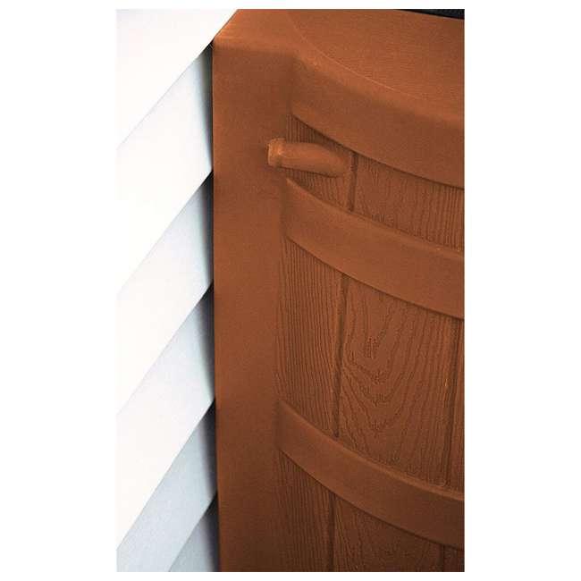 rw50-tc Good Ideas Rain Wizard Storage Collection Rain Barrel 50-Gallon, Terra Cotta 4