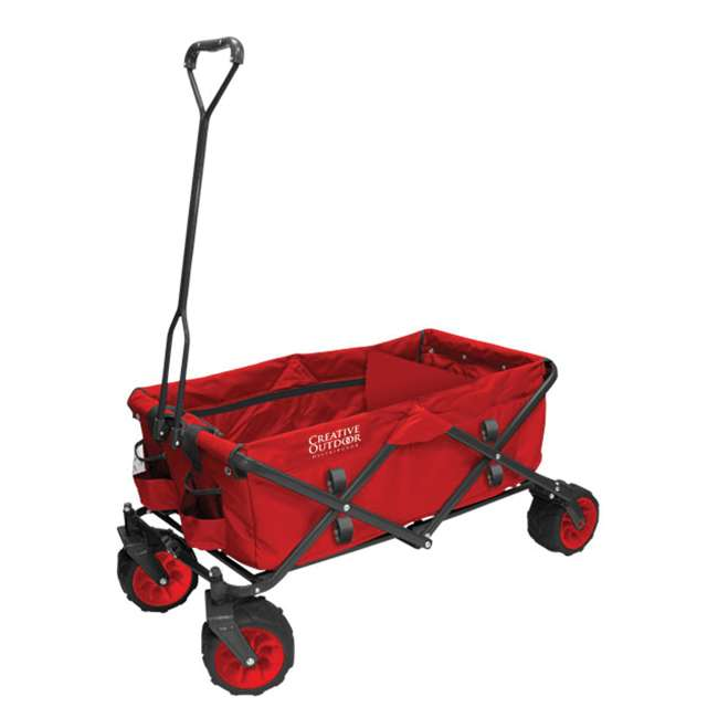 COD-900251-RED Creative Outdoor Distributor Folding Wagon, Red