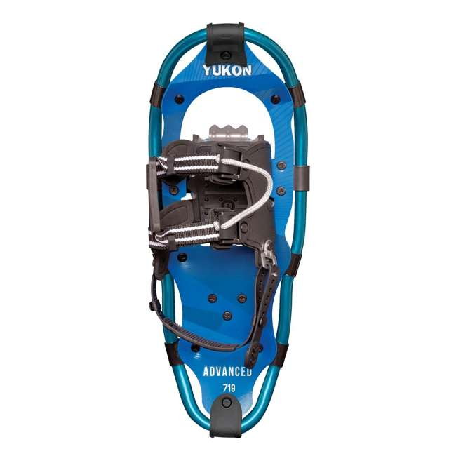 80-3021 Yukon Charlie's 80-3022 Advanced 7x19 Youth Backcountry Hiking Snowshoes, Blue 1