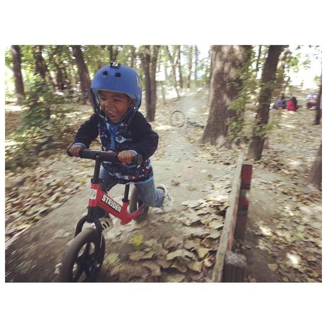 ST-S4RD Strider 12 inch Sport Toddler Training Adjustable Balance Bike, Red (2 Pack) 5