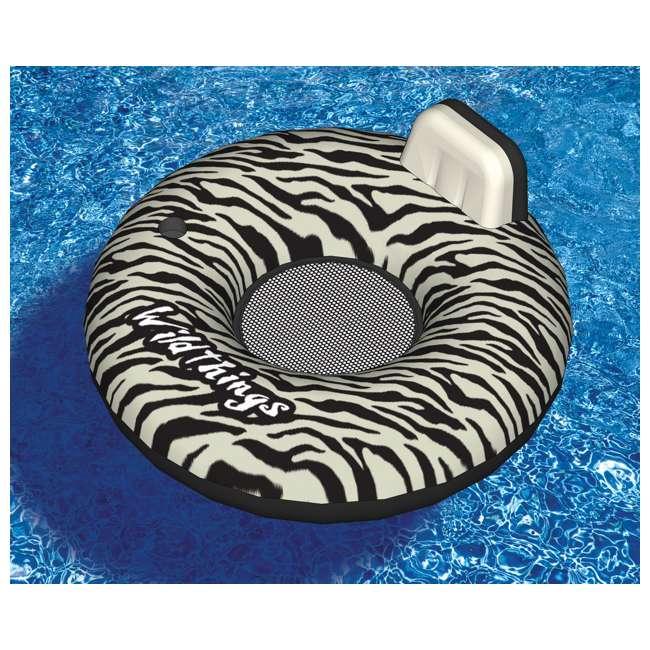 6 x 90552 Swimline Inflatable Zebra Print Float | 90552 (6 Pack) 1