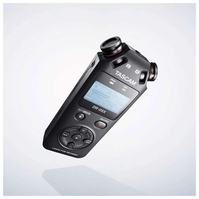 DR-05X + SD4-16GB-SAN + TH02-B Tascam Audio Recorder, SanDisk 16GB Memory Card, & Tascam Recording Headphones 3