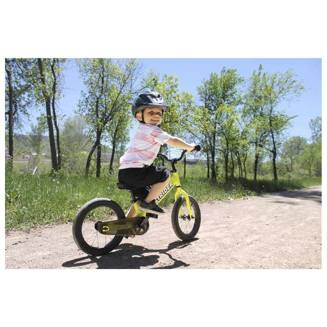 SK-SP1-US-GN Strider 14x 2-in-1 Kids Balance to Pedal Bike Kit, Green 4