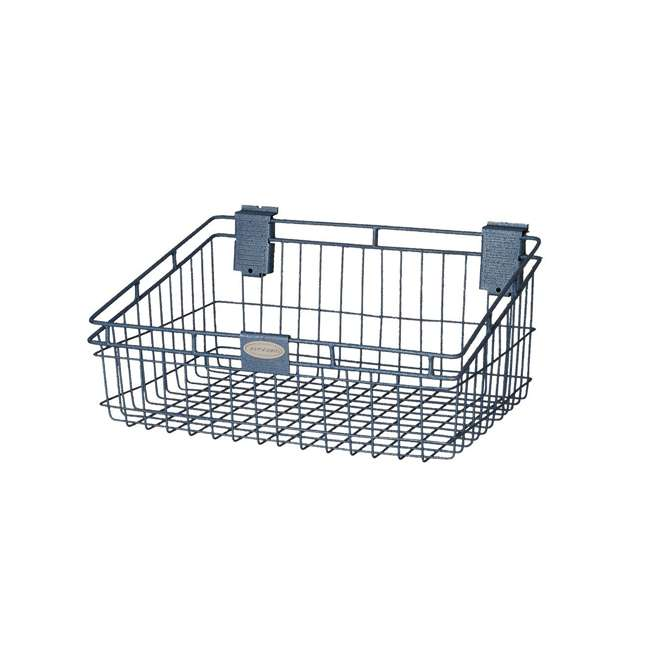 MB1218 Storage Trends 12 x 18 Inch Wire Basket, Blue