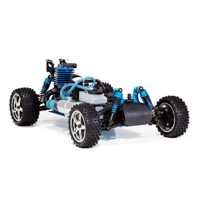 4 x TORNADOS30-R1072 Redcat Racing Tornado RC Nitro Buggy, Blue & Silver (4 Pack) 3