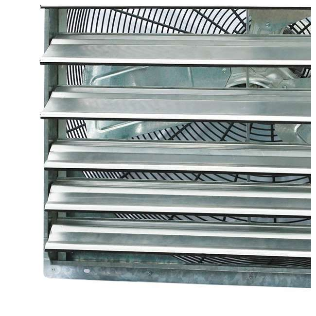 "ILG8SF30S-U-C iLiving 30"" Single Speed Shutter Mountable Commercial Exhaust Fan (For Parts) 2"