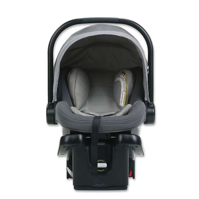 1969638 Baby Jogger City Go Baby Infant Car Seat, Steel Gray 1