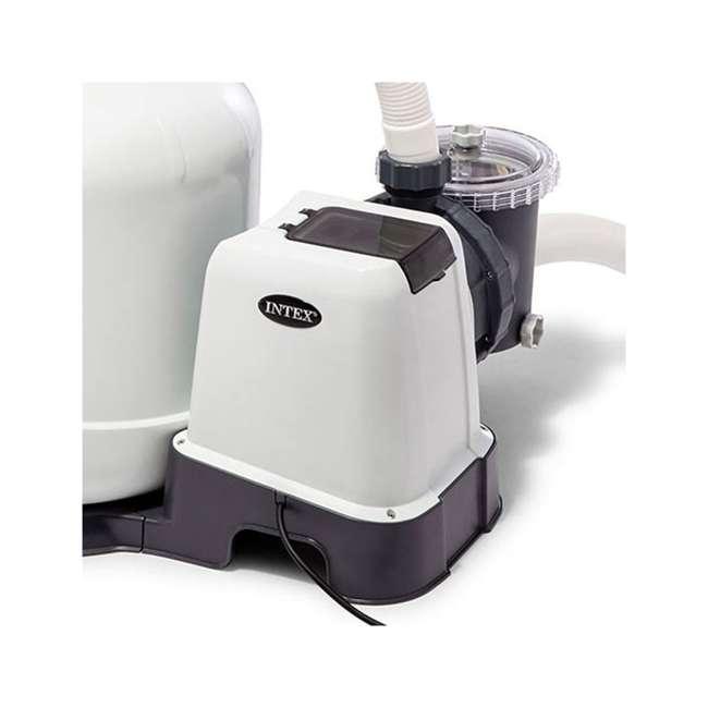 26651EG + 2 x 29060E Intex Pool Sand Filter Pump w/ Pump Hose (2 Pack) 5