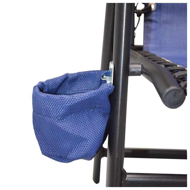 CVANXFC01022-2PK Caravan Canopy Infinity Suspension Chair w/ Cupholder (2 Pack) 2