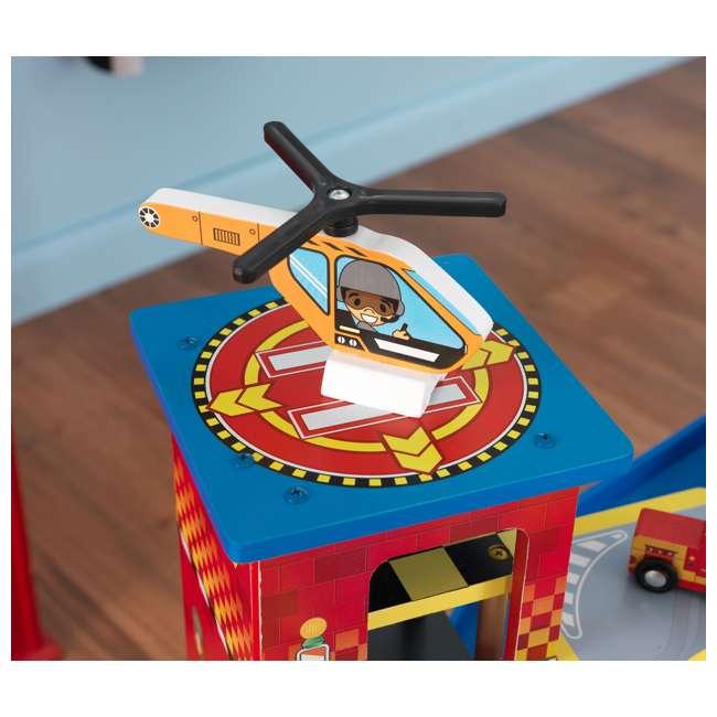 63267-U-A KidKraft Kids Mega Ramp Racing Set for Matchbox and Hotwheels Cars (Open Box) 11