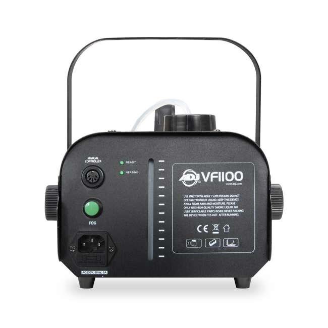 VF1100 + BLACK-24BLB + FJU American DJ 1000W Fog Machine with RemotesAmerican DJ 24-Inch Black Light Tube and juice (1 gallon) 2