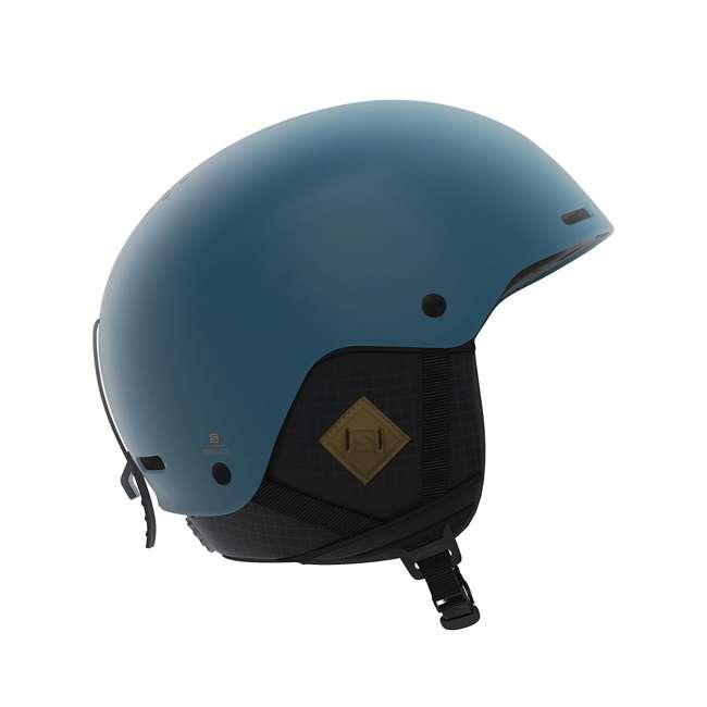 L40536900 - L Salomon BRIGADE+ Men's Blue Ski Snowboard Helmet, Large
