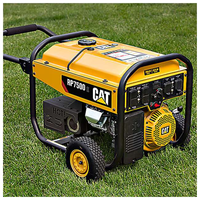 CAT-490-6491 RP7500 E Portable Generator  4