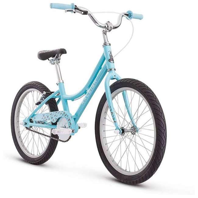 14-1510100 Raleigh Bikes Lightweight Frame Jazzi 12 Kids Bike with Training Wheels, Blue 1