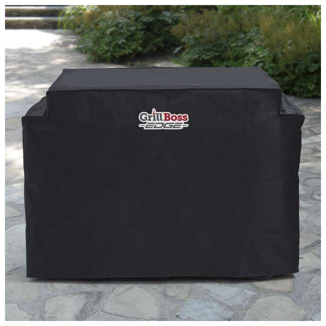 79866GB Grill Boss Edge Premium Weather Proof Outdoor Heavy Duty Griddle Cover, Black 1
