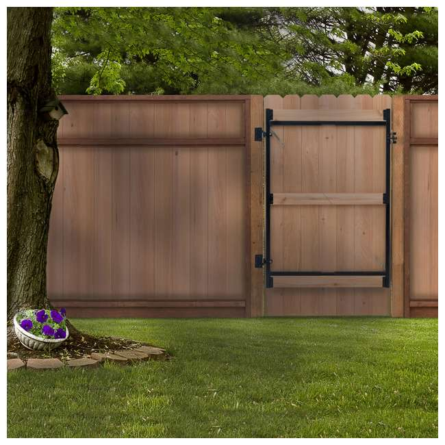 """5 x AG36-3 Adjust-A-Gate Steel Frame Gate Kit, 36""""-60"""" Wide Opening Up To 7' High (5 Pack) 2"""