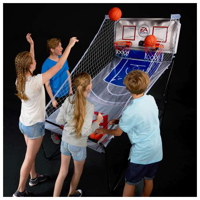 1658127 EA Sports 2-Player Indoor Basketball Arcade Game 5