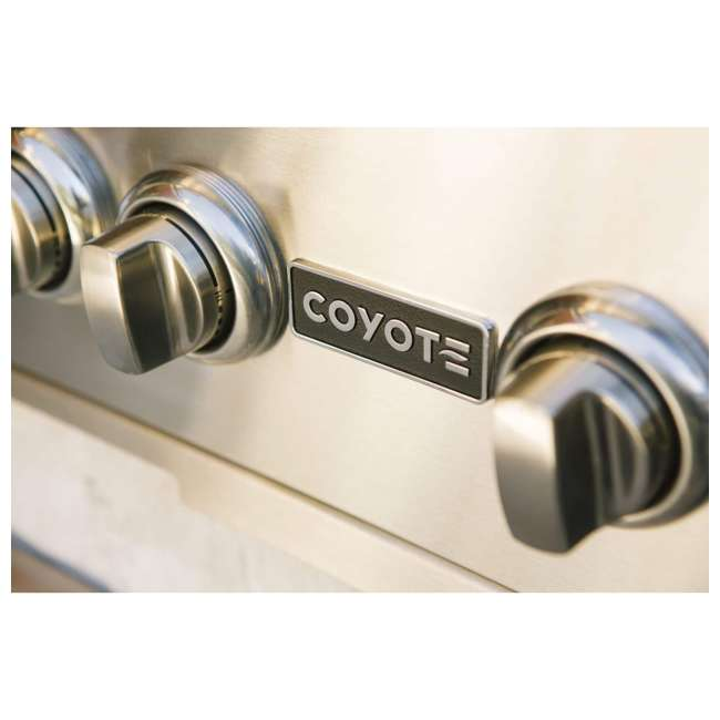 C2SL30NG-FS Coyote C2SL30NG-FS 30 In S Series 700 Sq In Stainless Steel Natural Gas Grill 4