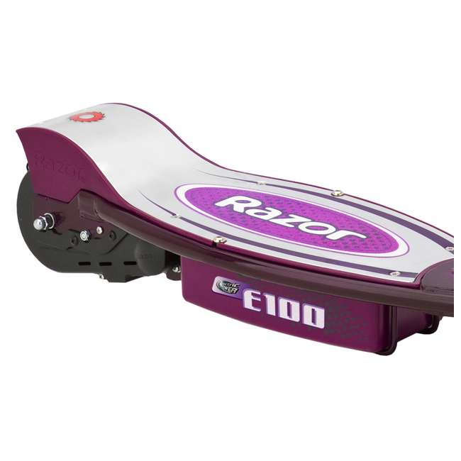 13111250 Razor E100 Electric Motor Powered Girls Scooter - Purple - For Parts 2