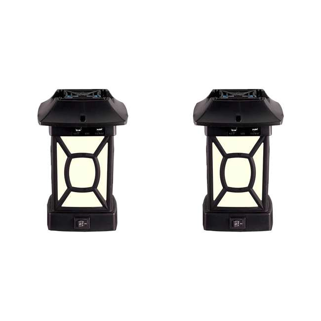 MR9W Thermacell Cambridge Outdoor Patio Mosquito Repeller Shield Lantern (2 Pack)