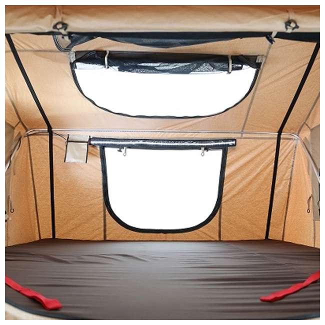 2883-SMITTYBILT Smittybilt XL Overlander Roof Top Folded Tent 2