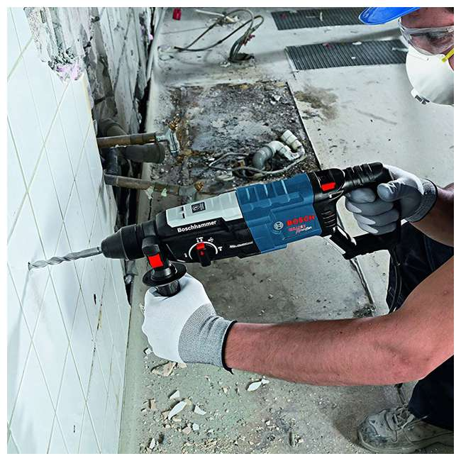 "GBH2-28L-RT-RB-U-B Bosch SDS Plus 1.125"" Rotary Hammer Drill Tool (Certified Refurbished)(Used) 1"