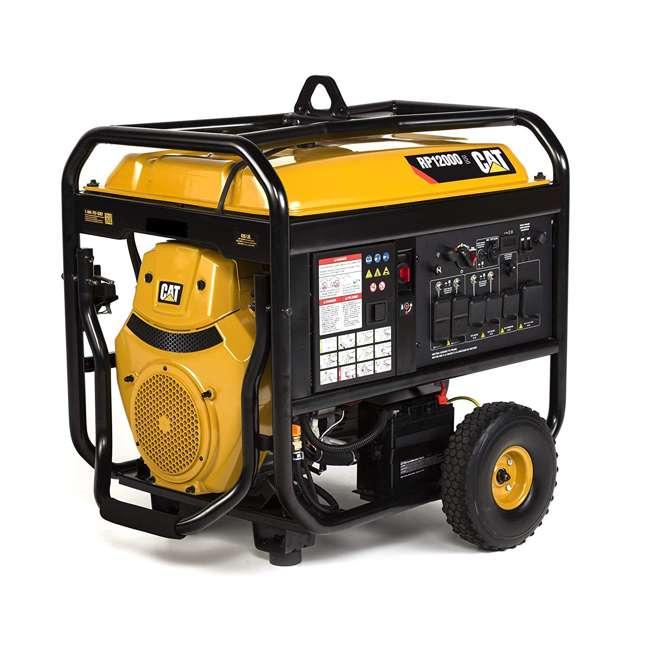 CAT-502-3699 CAT RP12000E 12000 Watt Running/15000W Starting Gas Powered Portable Generator