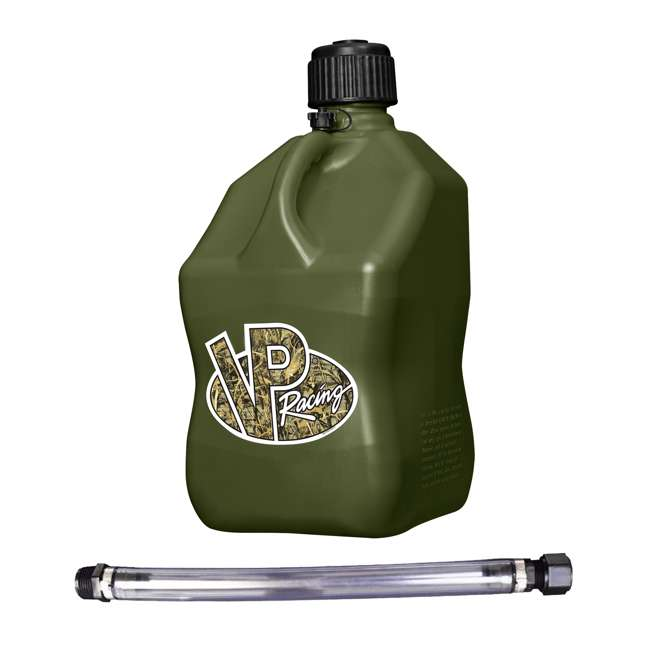 "3846 VP Racing Fuels 5-Gal. Motorsport Liquid Container, Camo w/ 14"" Standard Hose"