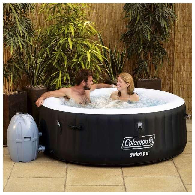 13804-BW + 3 x 90352E-BW Coleman SaluSpa Inflatable Hot Tub + 3 Filter Cartridges 2