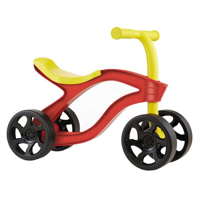 638077M Little Tikes Scooteroo 4 Wheel Toddler Indoor Outdoor Ride On Toy Bike, Red 1