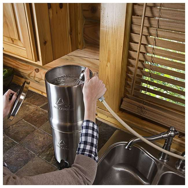 ALEXAPURE-2394 Alexapure Pro Stainless Steel Water Filtration System 2