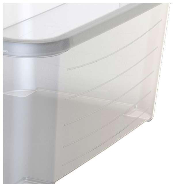 24 x CS-50 Life Story Clear Closet Organization & Storage Box 55 Quart (Open Box) (24 Pack) 4