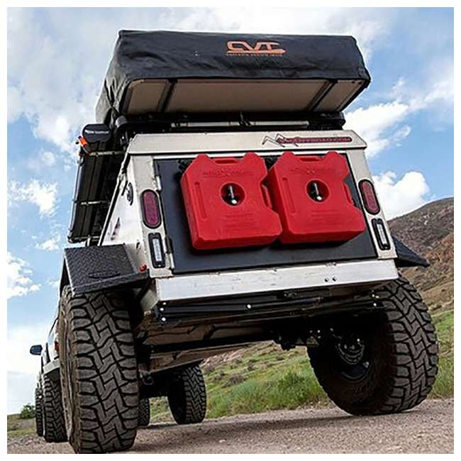 """1060001 + RX-3G ARB 4409 Pound 6"""" to 48"""" Hydraulic Jack & 3 Gallon EPA Safe Gasoline Container 4"""