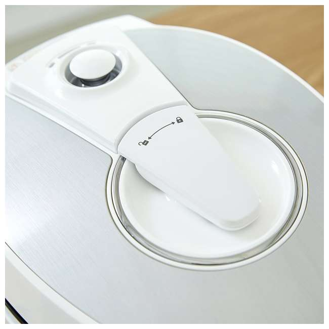 CRP-HS0657FW Cuckoo Electronics Stainless Steel 6 Cup Electric Pressure Rice Cooker, White 6
