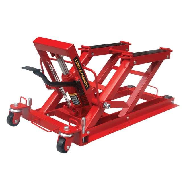 TOR-T64017-U-C Torin Big Red .75 Ton 1500lb Capacity Motorcycle ATV UTV Jack Lift (For Parts) 1