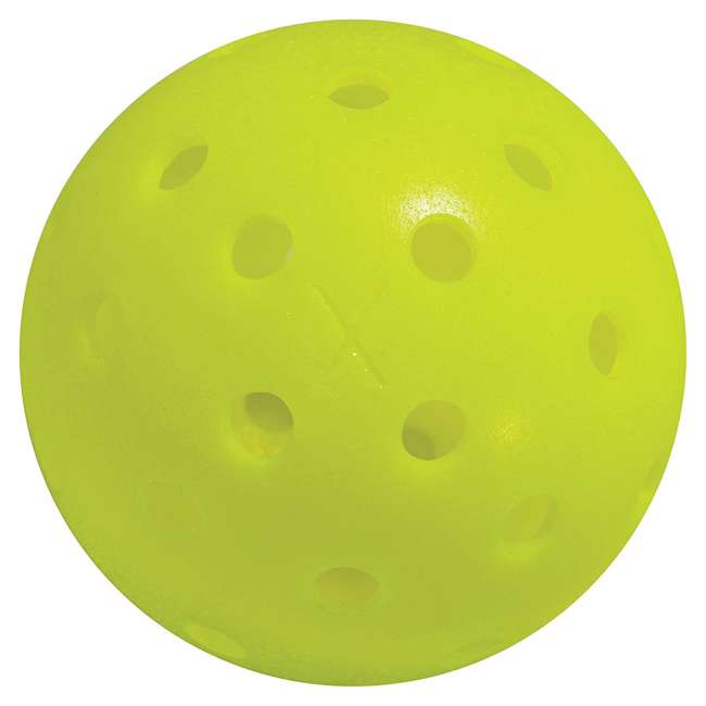 52843x Franklin Sports X-40 Pickleballs 100 Piece Outdoor Gaming Pack, Yellow 1