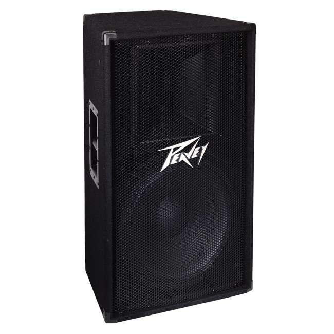 PV-115 + 2 x PSTND3 Peavey 15-Inch 2-Way 800-Watt Speakers (Pair) + Pyle 58-Inch Speaker Poles (Pair) 3