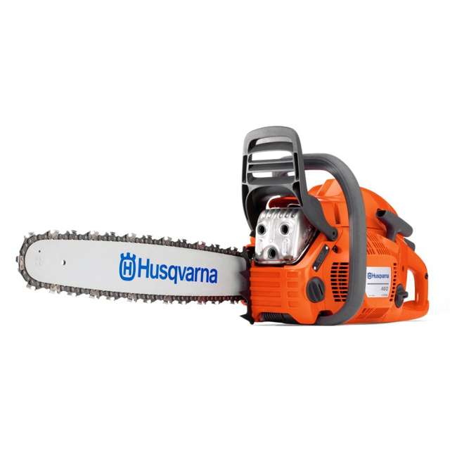 HV-CS-966048320 + HV-TOY-522771104 Husqvarna 460 20-Inch 3.62 HP Gas-Powered Chainsaw | 440 Toy Kids Chainsaw 1