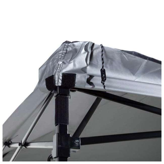 APFGA1010DG Abba Patio 10 x 10' Outdoor Pop Up Canopy, Dark Gray 3