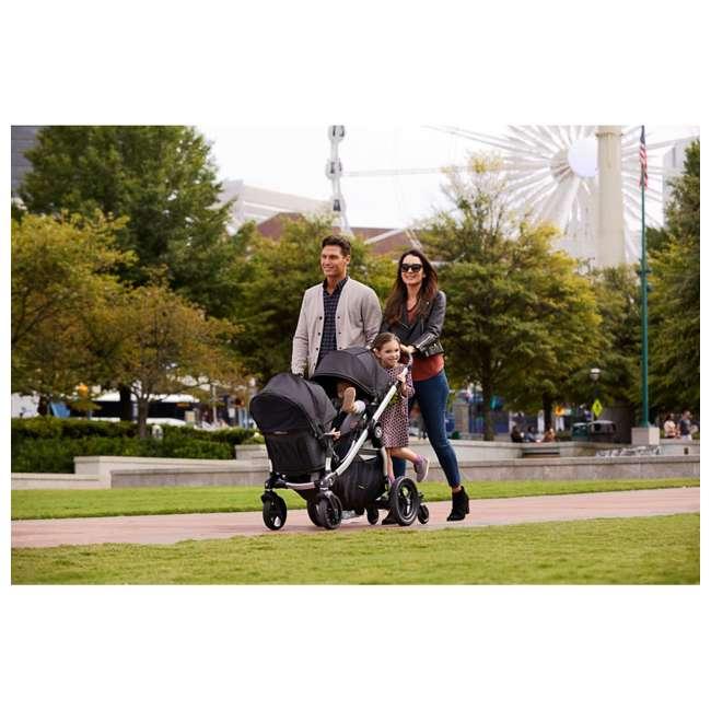 1959407 + 2050966 Baby Jogger City Select Customizable Stroller + Baby Jogger Pram Bassinet 4