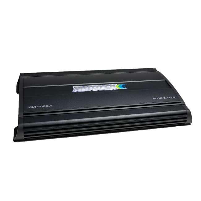 MM4020.4 Autotek MM4020.4 Mean Machine 4000-Watt 4-Channel Bridgeable Amp (2 Pack) 1