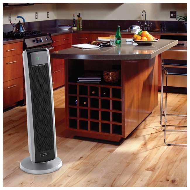 LKO-5586-TN Lasko 5586 Portable Electric 1500W Room Oscillating Ceramic Tower Space Heater 5