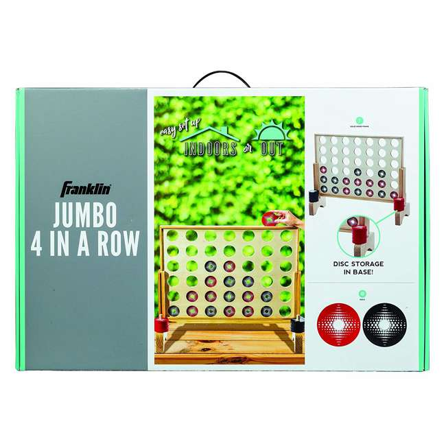 51202 Franklin Sports Jumbo Connect 4 Game Set 2