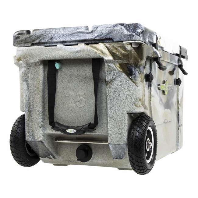 HC50-17P WYLD HC50-17P 50 Qt. Dual Compartment Insulated Cooler w/ Wheels, Prairie Camo 2