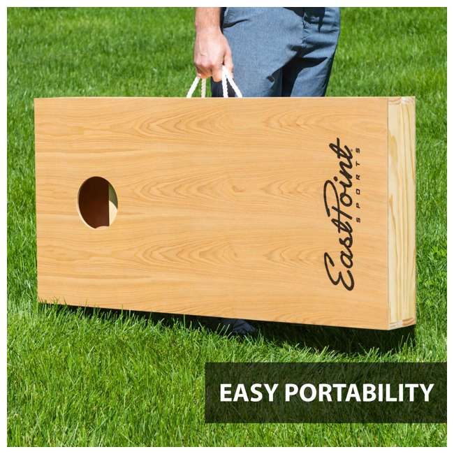 1-1-16947-DS Eastpoint Sports 1-1-16947-DS Tournament Size Legacy Cornhole Beanbag Toss Set 2