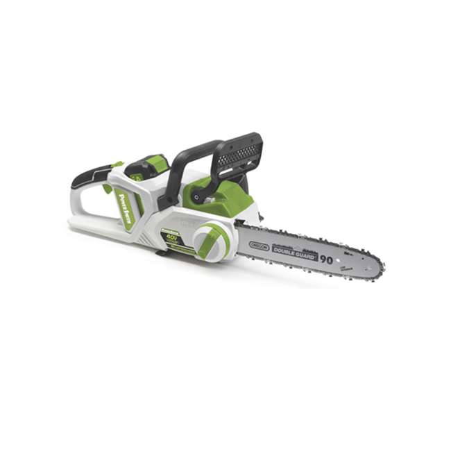 PCS140H PowerSmith 14-Inch Cordless Chainsaw w/ Battery and Charger