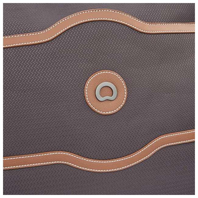 40177435006 DELSEY Paris Women's Chatelet Designer Soft Air Travel Shoulder Bag, Chocolate 5