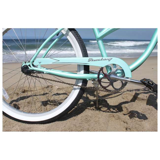 "14602-FM Firmstrong Urban Lady Women's 26"" 3-Speed Cruiser Bike, Mint 3"