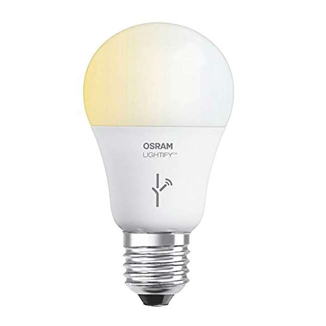 3 x SYL-72933-U-A Sylvania  Lightify 60-Watt A19 Tunable White Smart LED Bulb  (Open Box) (3 Pack)